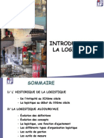 1 Introduction Logistique