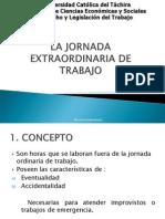 LA JORNADA EXTRAORDINARIA DE TRABAJO.ppt
