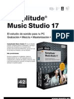 Samplitude Music Studio 17