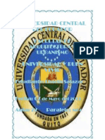 Universidad Central Del Ecuador Fecundacion