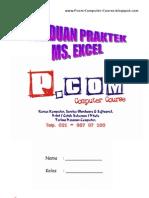 Panduan Praktek Ms. Excel Siswa Pcom