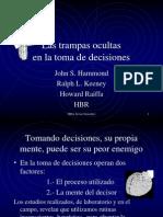 literaturaempresagestinespaolppslastrampasocultasenlatomadedecisiones-090608205610-phpapp01