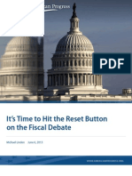 It's Time to Hit the Reset Button on the Fiscal Debate