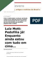 Luiz Mott Pedofilia UFBA