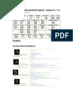 Diablo 2 II Lod - Lista Items Unicos Completa v1.12 by Elgranpiripi