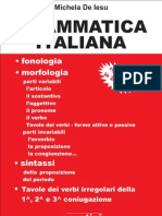 Grammatica-Italiana Sunto [U]