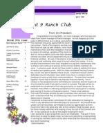 2009 Q1 Newsletter