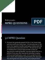 MRPC Rule 5.6 Question