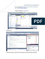 Crear Web SCrear Web Service usando WCF