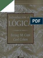 Irving M. Copi, Carl Kohen - Introducción a La Lógica