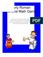 Roman Numeral Game for Kids
