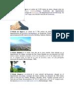Volcanes de Guatemala Con Imagenes