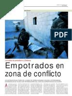 Empotrados en Zona de Conflicto