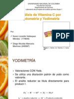 Seminario Valoracion Vitamina C (Yodo- y Yodimetría)