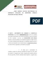MCCE PAGINA DO E - REPRESENTAÇAO ALEXANDRE CESAR