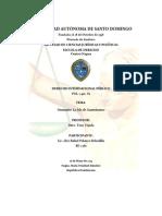 [POL-2410] (Seminario) Derecho Internacional Público I