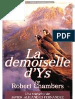LA DEMOISELLE D´YS_Por Robert Chambers