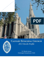 Calvary Profile 2013