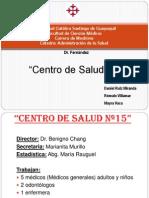 Centro de Salud N15