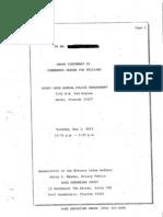 Trayvon Martin MDSPD Reports - Fox Williams Attachment - pgs 1-116