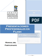 Tutorial Como Hacer Diapositivas en Macromedia Flash Player 8