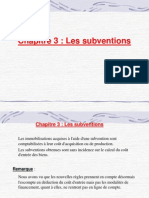 Module 5 (Subvention)