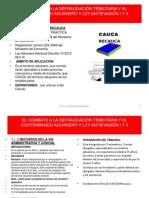 Combate Defraudacion Contrabando Aduanero y Ley Antievasion i y II 7 de 8