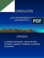 DIAPOSITIVAS RECREACIÓN