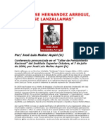 """""""JUAN JOSE HERNANDEZ ARREGUI, ESE LANZALLAMAS"""" - Por/ José Luis Muñoz Azpiri (h)"""