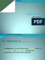 Adjectives ....