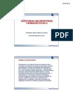 Auditoria Em Industria Farmaceutica II