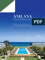 Anilana Prospectus