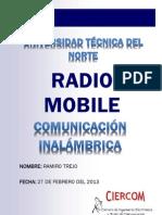 Instalación y funcionamiento Software Radio Mobile