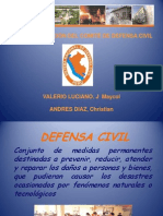 Defensa Civil Exposicion