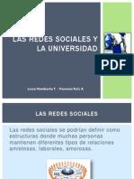 506900_HEINF2013I_[POWERPOINT]_[Las Redes Sociales y La Universidad]