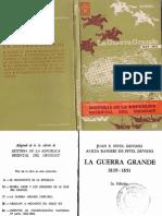 La Guerra Grande 1839-51 Pivel Devoto - Alcira Ranieri