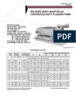QAF (GD-300Q) Continuous Duty Pump Brochure & Data Sheet