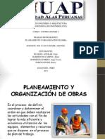 Planeamiento y Organizacion de Obra Expos
