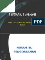 1 Hijrah 1 Ummah 1