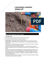 London Rail Excavation Unearths Suspected