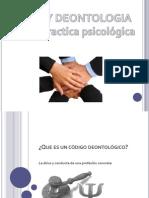 Deontologia de La Psicologia