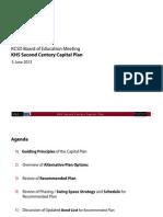 Kingston High School Construction Plan, June 2013