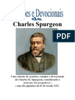Charles Haddon Spurgeon - Sermoes Devocionais