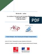 Rapport Entrepreneuriat