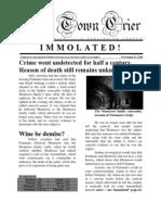 The Cask of Amontillado (postmortem news article)