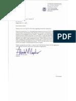 USCIS Letter