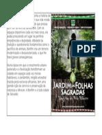 Capa o Jardim Das Folhas Sagradas