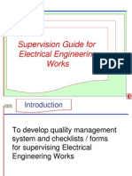 HDB-Supervision Guide for Electrical Engineering Works