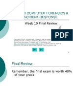 CNS 320 Week10 Final Review