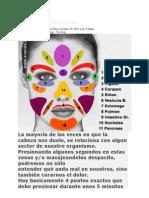 Reflexologia Del Rostro